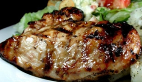 grilled-chicken-breast-with-barbeceue-sauce