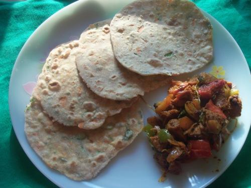 Veggie Chapati