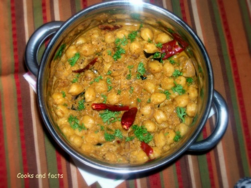 Chickepea curry