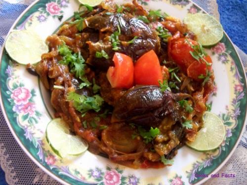Eggplant ( Brinjal) in spicy gravy