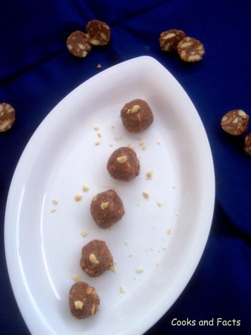biscuit choco truffles