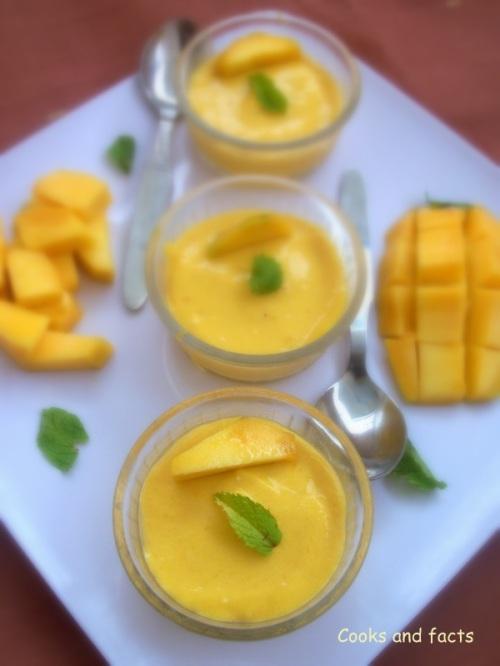 Souffle Mango