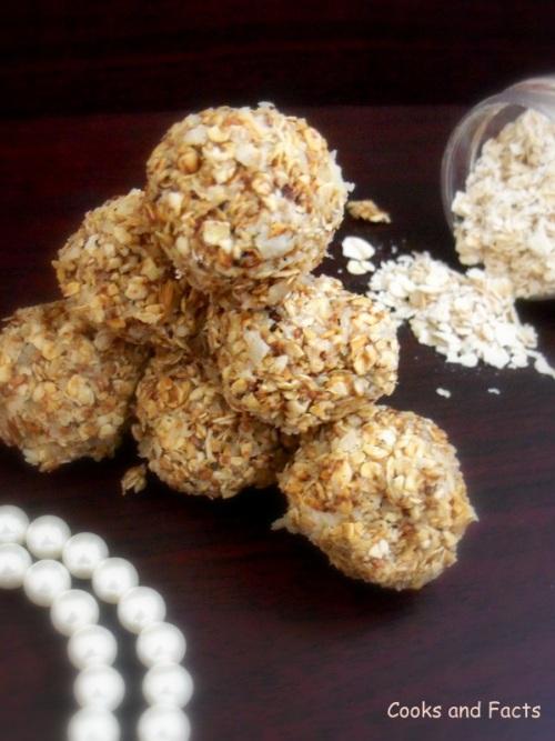oats cocnut balls