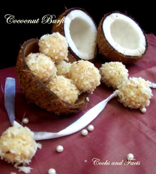 Coconut Burfii