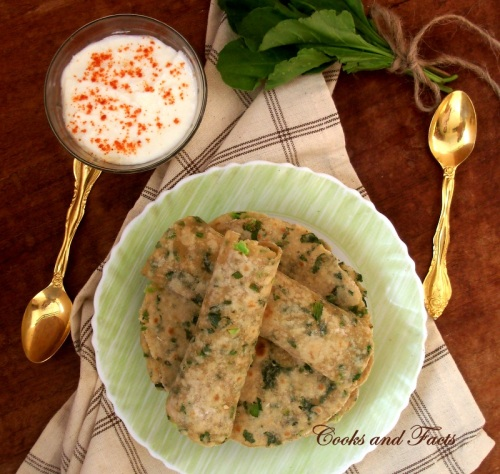 Palak Broccoli Indian Bread