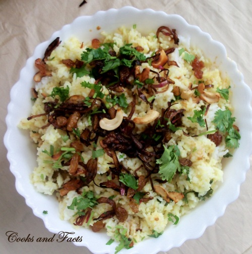 Biriyani chicken