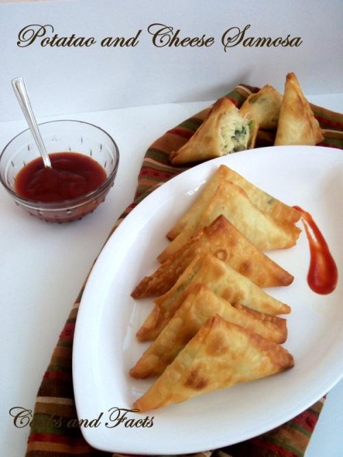 Samosa potato and cheese