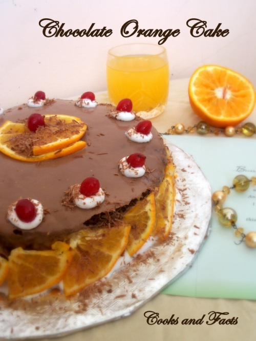 Chocolate Orange Cake - 3