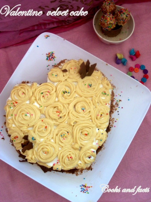 Valentine velvet Cake